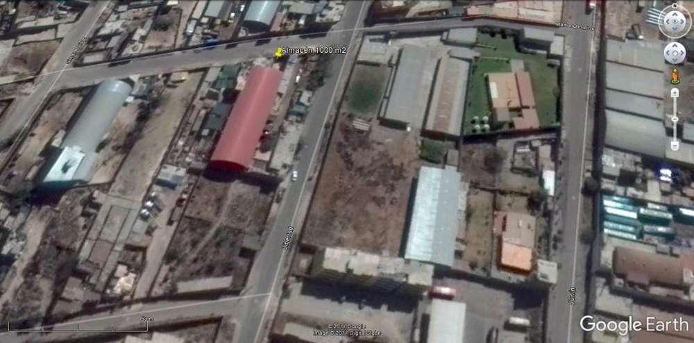 ALQUILER DE ALMACÉN 1000 M2 ,TECHADO,PACHACUTEC,CERRO COLORADO