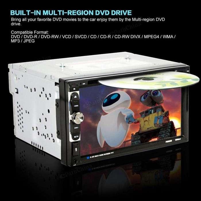 Autoradio Pantalla Tactil DvD TV con Camara de Retroceso