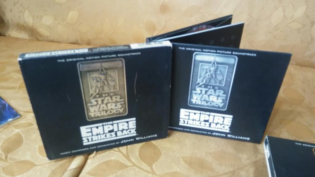 Discos Originales de Star Wars coleccion