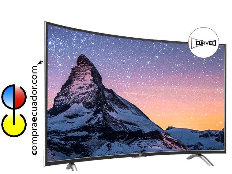 TCL Televisor LED Curvo Smart TV 49 Pulgadas Full HD