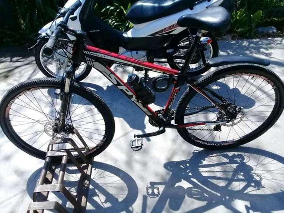 Bicicleta Spy R29 con Sus Papeles