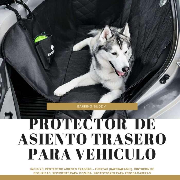 Protector asiento trasero para vehículo - mascotas