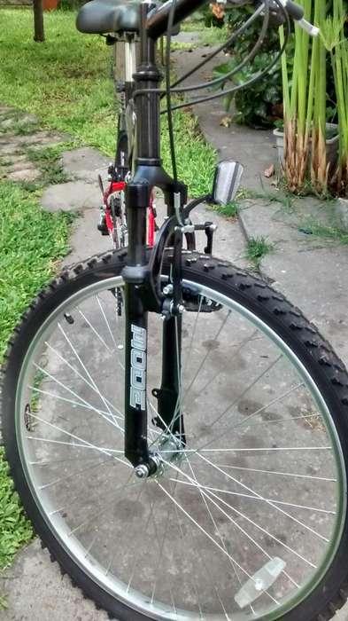 Bicicleta haley doble suspension
