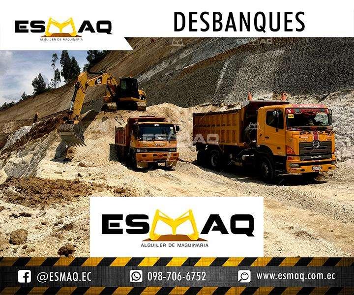 Excavaciones para edificios, Demoliciones, Desbanques, Retiro de escombros, Mejoramiento de suelos