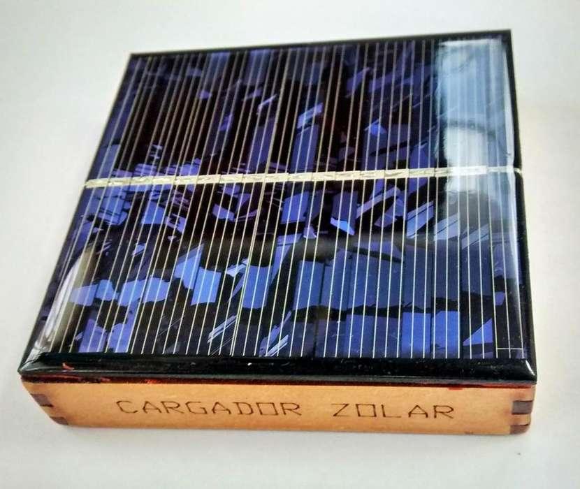 Cargador Solar Baterías Recargables AA