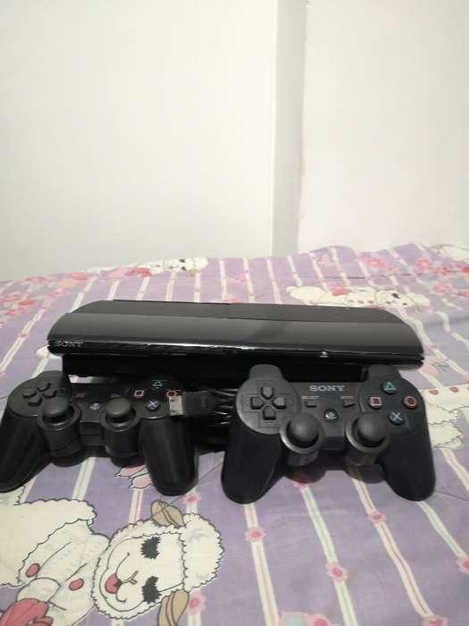 Ps3, Play 3, 500gb 2 Controles Y Juegos