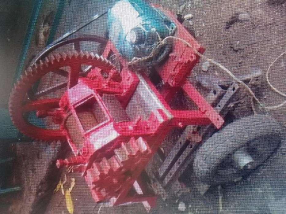 Trapiches hierro con motor