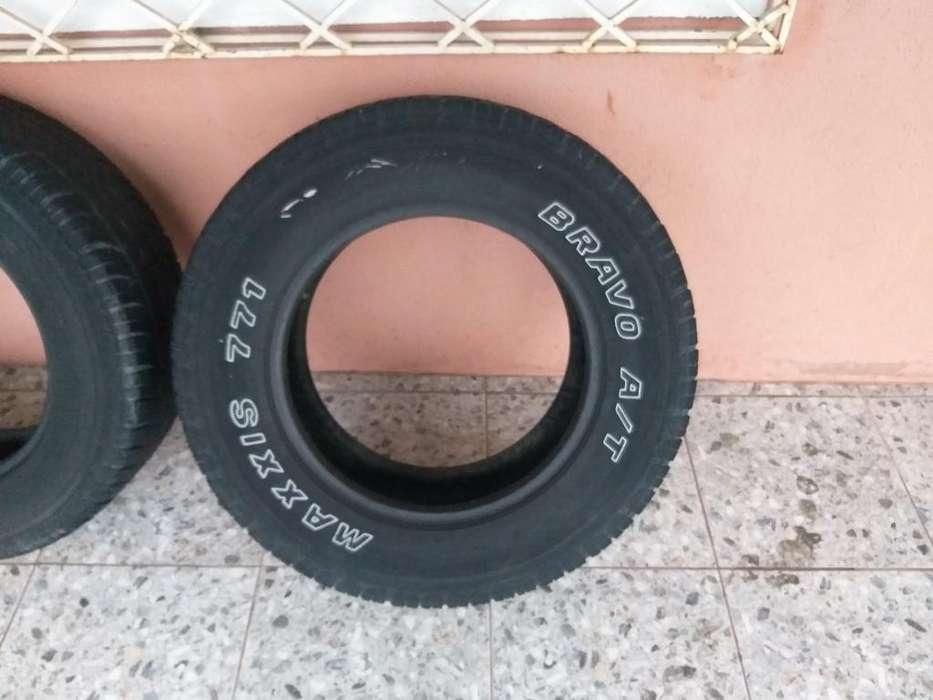 Vendo 2 <strong>llanta</strong>s Maxxis A/t Seminuevas