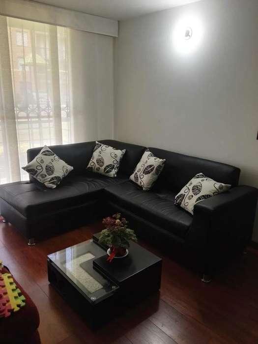 Linda sala - Sofá en L