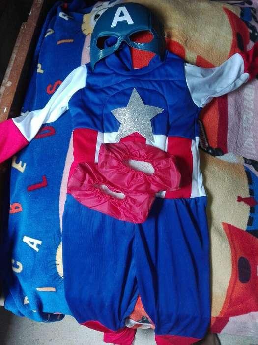 Vendo Disfras de Capitan America