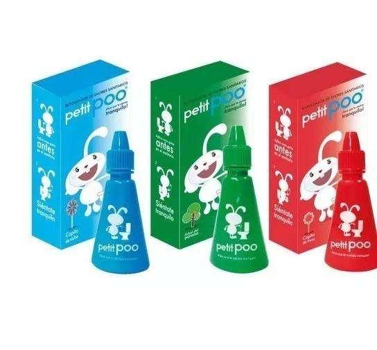 Eliminador De Olores Sanitarios Petit Poo X3 Unidades