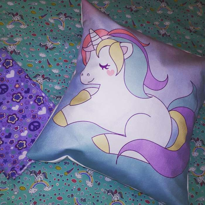 Almohadones Decorativos Unicornios