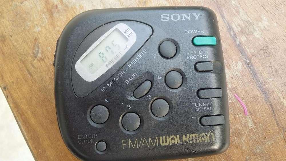 Radio Sony FM/AM digital