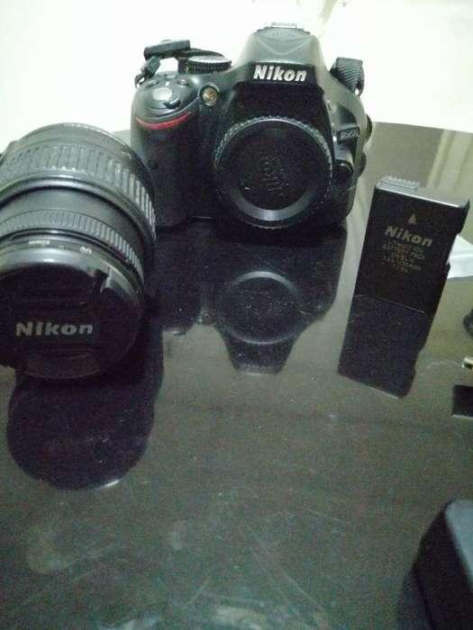 Se Vende Cámara Profesional Nikon D5200