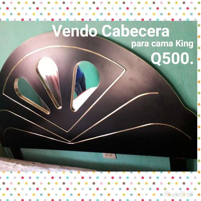 Vendo Cabecera, Cama King Info.x Inbox