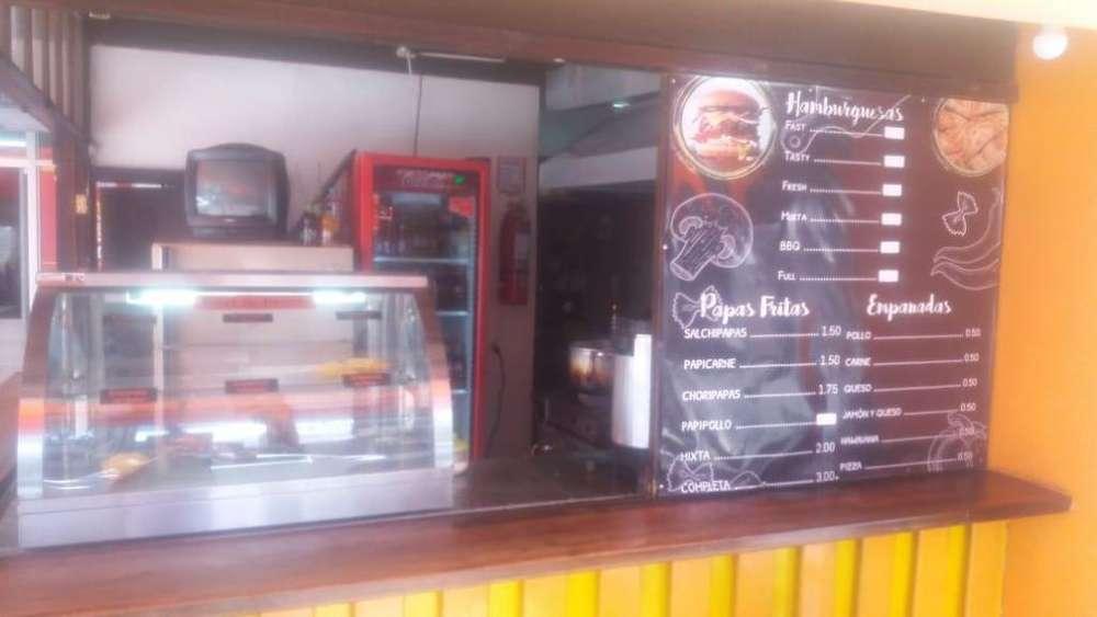 Vendo Negocio de Restaurante Gaspar de Villarroel