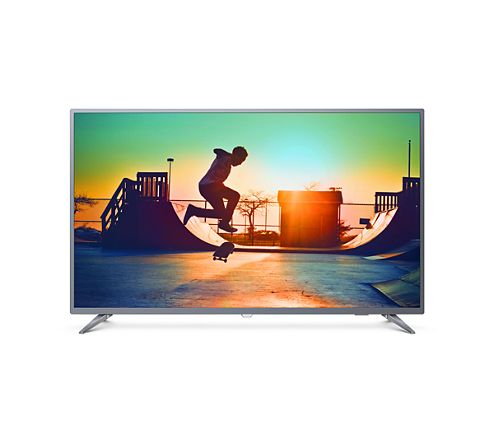 "Televisor PHILIPS LED smart UHD 55"" ultra-delgado   50PUD6513"