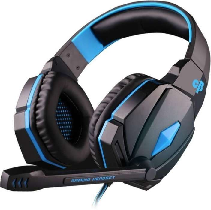 Audifono Diadema Gamer G4000 Usb Microfono Led Kotion Each