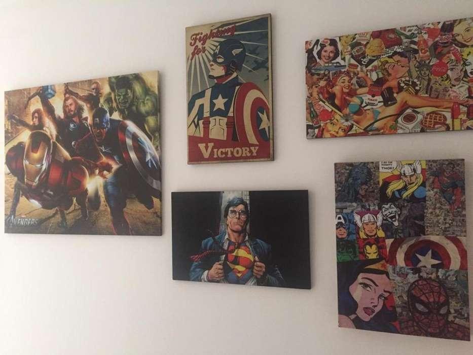 Cuadros Comics