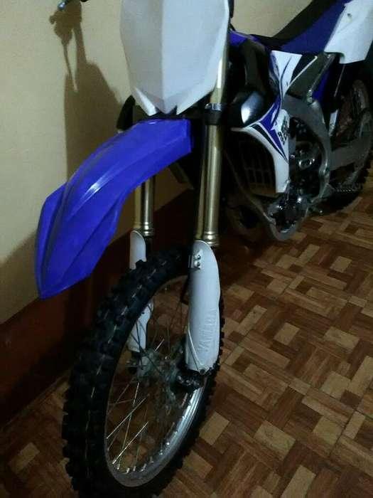 Vendo Motocicleta Yamaha Yz 250f 2014-15