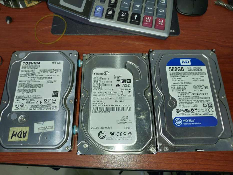 Disco Duro Pc 500gb