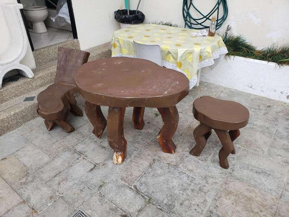 Muebles <strong>patio</strong> Piscina Playa Madera Palo