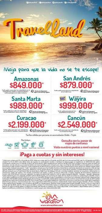 ¡viaja a San Andres Y Santa Marta!