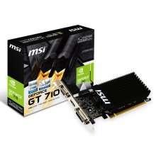 Msi Placa Geforce Gt 710 2gd3 Lp