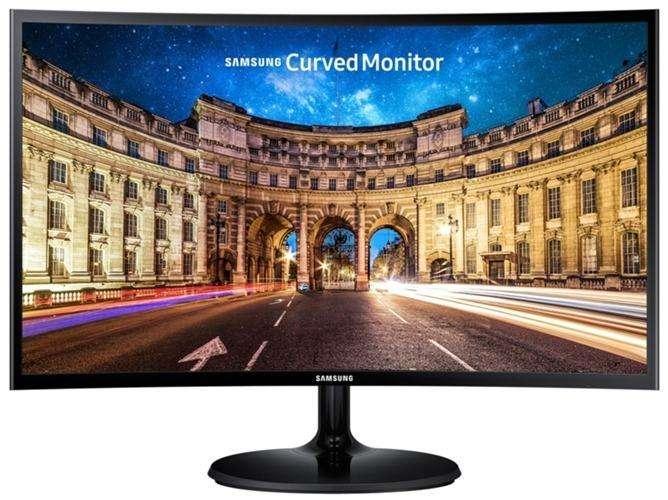 Monitor Samsung 24 Curvo Lc24f390fhlxzl