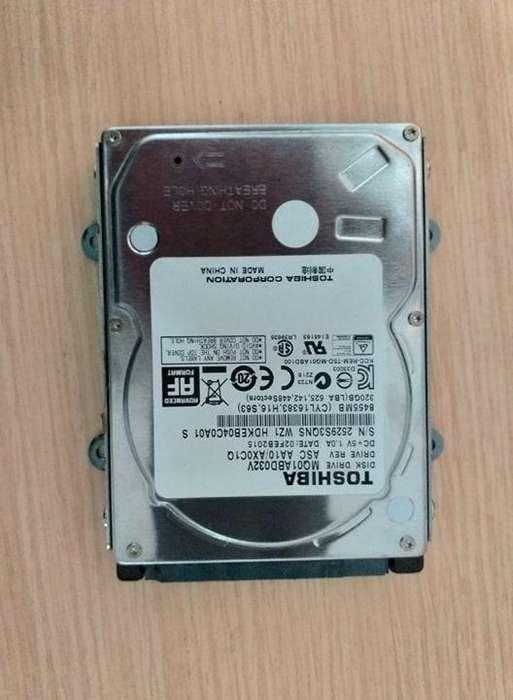 disco duro TOSHIBA 320GB para pc portatil 50.000