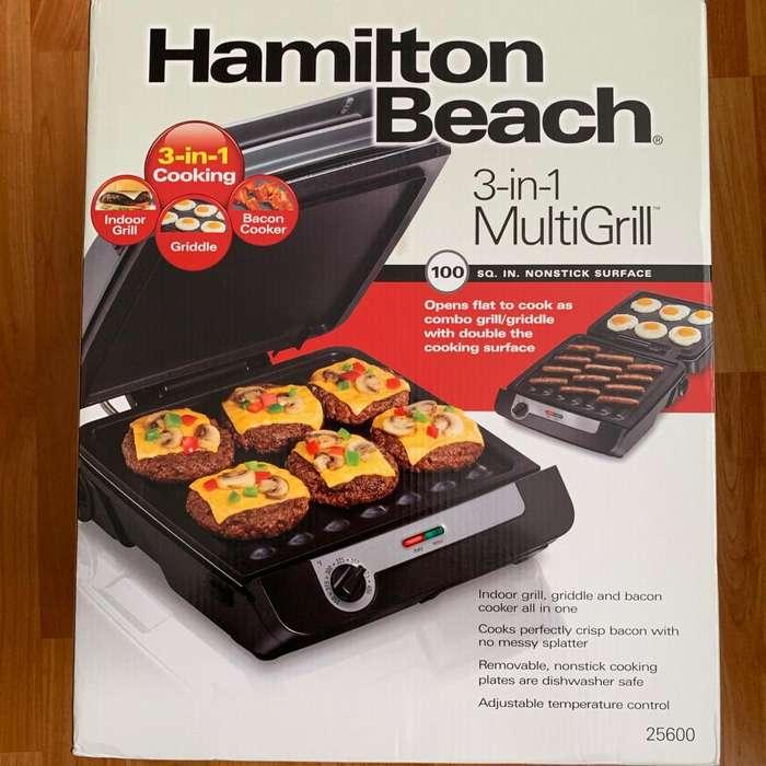 MultiGrill 3 en 1 Hamilton Beach