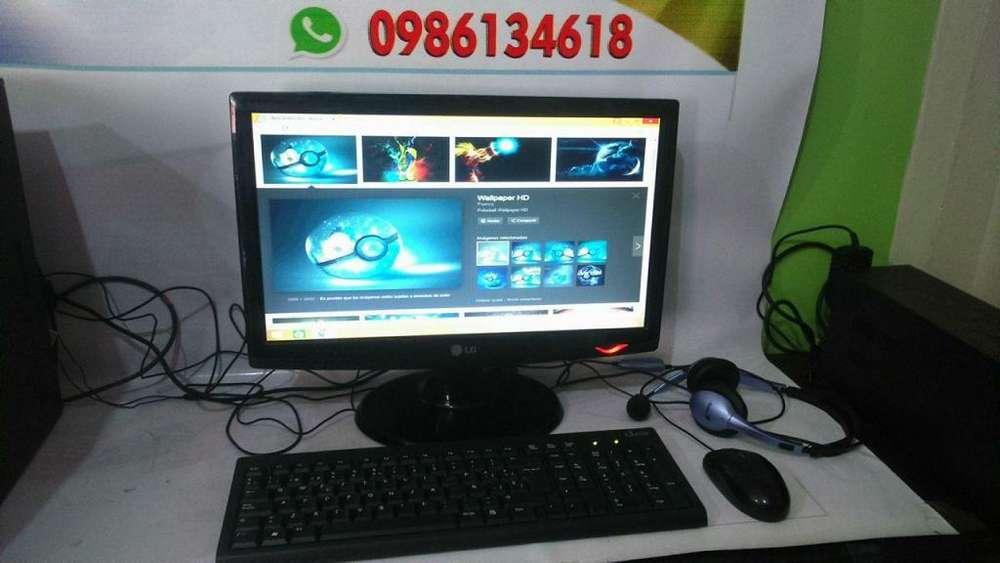 <strong>monitor</strong>ES LCD LG DE 19 PULGADAS LISTOS PARA TRABAJAR, GRATIS MOUSE, TECLADO Y AUDIFONOS