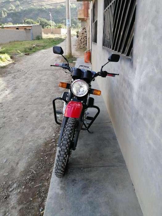 Moto nueva motor 200 una bala 984226210