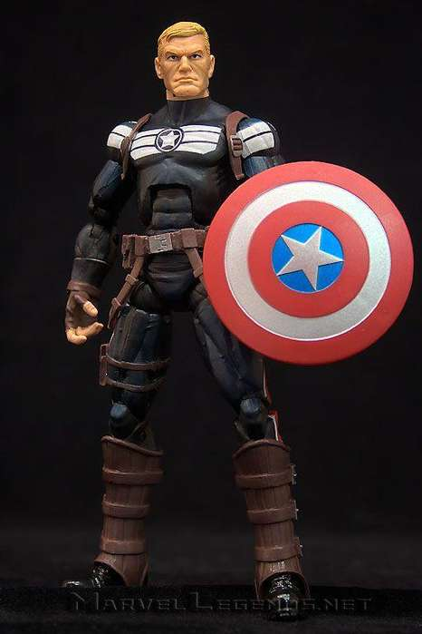 Steve Rogers Capitan America Marvel Legends