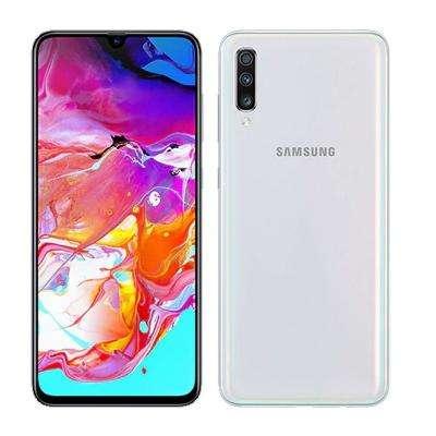 <strong>celular</strong> Samsung A70 128gb Blanco