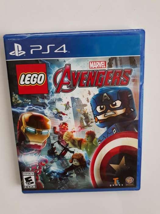 Lego Avengers Vengadores juego PS4 Nuevo y Sellado en Español