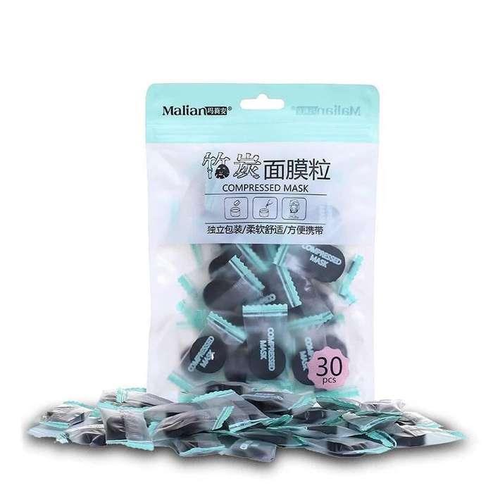 Mascarilla facial - Bolsa x 30 unidades - comprimidos