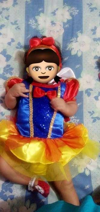 Vendo Disfraz Blanca Nieves Bebé
