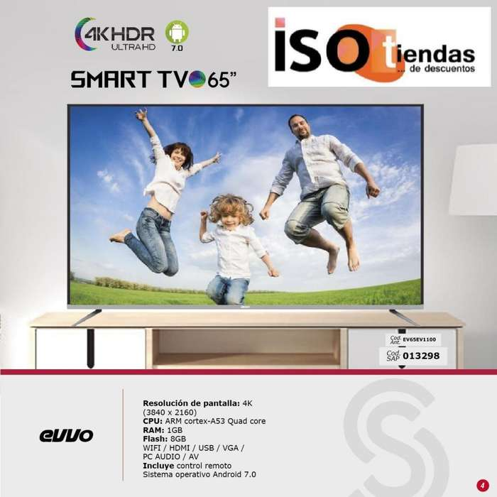 SmartTV android 4K Full HD