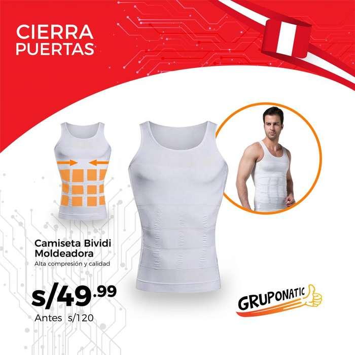Camiseta Bividi Moldeadora Alta Compresión Gruponatic San Miguel Surquillo Independencia La Molina Whatsapp 941439370