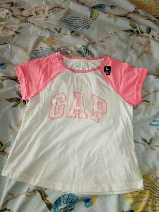 Polo Gap 7 Años Edad Mujer
