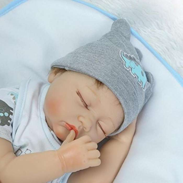 Bebe Reborn Dormido Bebe Real