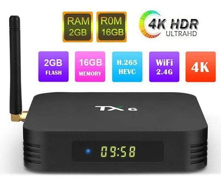 Tv Box Tx6 2g Ram 16g Internas Android 9.0