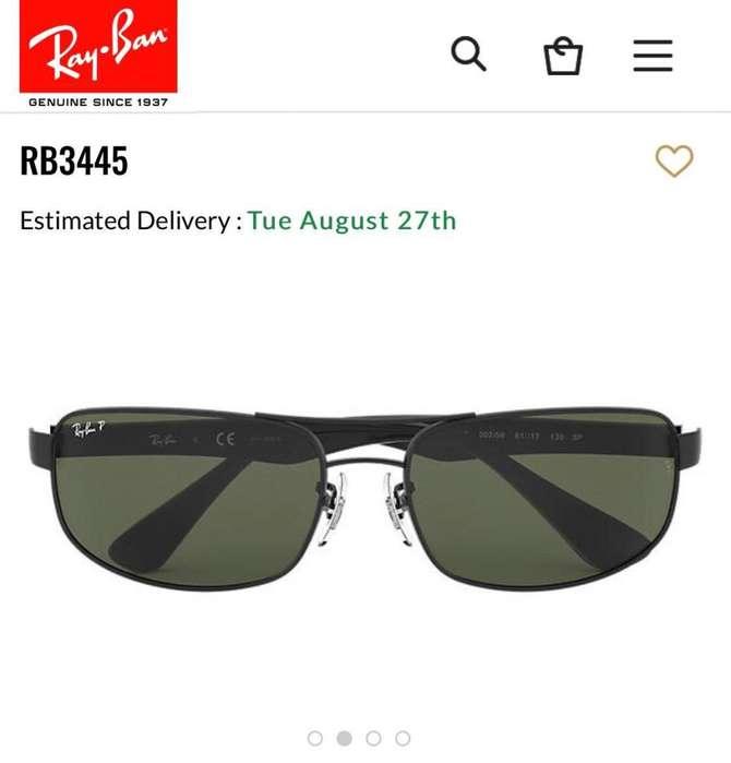 Gafas Ray-Ban Modelo Rb3445 - Nuevas
