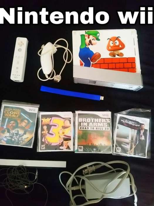 Nintendo Wii Usb con Juegos