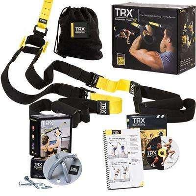 Kit TRX Suspension Training Anclaje para Pared
