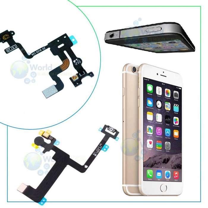 Flex Encendido Iphone 4 4s 5 5s 5c Se 6 6s Plus 7 Plu Power