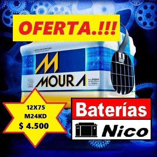 BATERÍA MOURA 12X75-M24KD (OFERTA IMPERDIBLE)