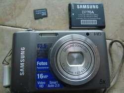 camara SAMSUNG digital DE 16 mega pixeles