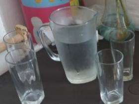 jarra 4 vaso de vidrio Tlf 313 7578342